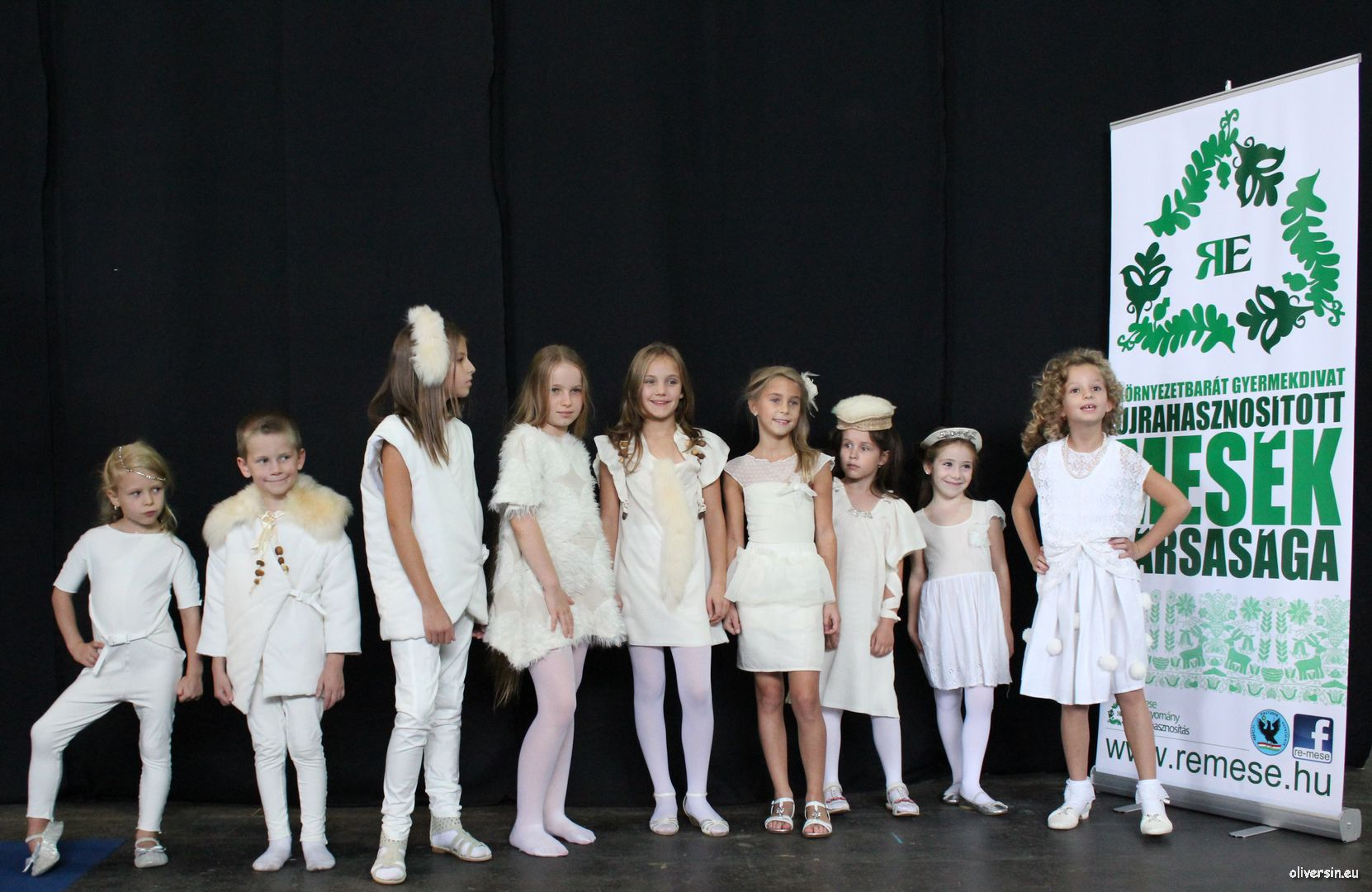 REmese Kids Fashion Show Újrahasznosított Mesék BNV 90