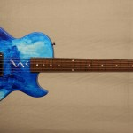 Fibenare NAMM 2013 Oliver SIn Collaboration Guitar front
